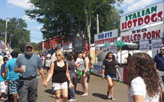 8月7日至13日,密豆萨克斯郡节(Middlesex County Fair)在东布朗斯维克市(East Bruanswick)举行。(郭茗/大纪元)