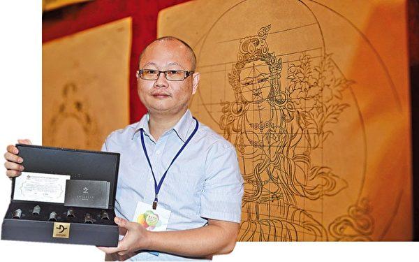 溫騏曾隨一名僧人到北印度出家5年。(Dakini提供)