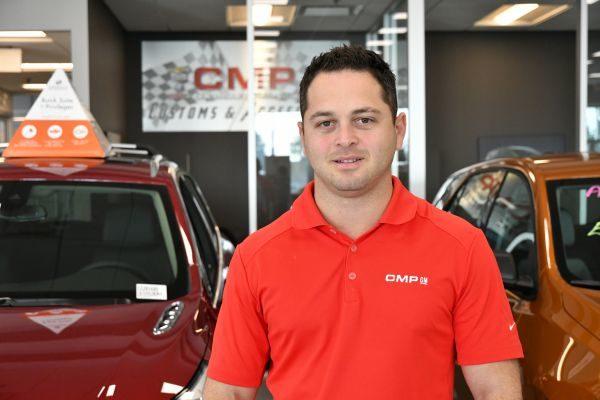 CMP Auto 销售总经理Michael Fisher。