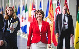 圖:前省長簡蕙芝(Christy Clark)將在8月4日辭去省自由黨主席一職,停止擔任Kelowna West選區省議員,徹底退出卑詩政壇。(加通社)