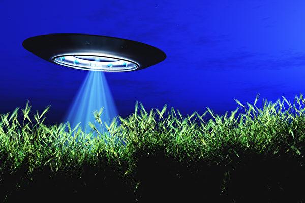 CIA一份解密档案称,俄罗斯士兵击落UFO,但被外星人变成石头。图为UFO示意图。(Fotolia)