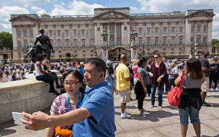中国游客去年在英国消费5亿镑