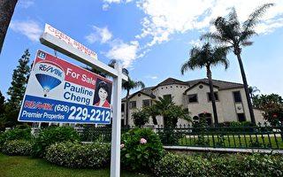 洛杉矶房产持续增值,已达到大衰退后的高点,而越来越多的房主也因此积累了相当可观的资产。图为亚凯迪亚一处待售房屋。 (FREDERIC J. BROWN/AFP/Getty Images)