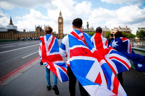 下週,英國脫歐談判將進入第三輪。( ODD ANDERSEN/AFP/Getty Images)