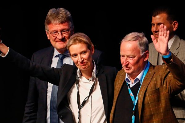 德國選項黨AfD:嚴控難民