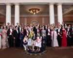 今年5月9日,挪威王室為國王夫婦舉行盛大的生日慶典。(Thomas Brun/Norway Royal Court via Getty Images)