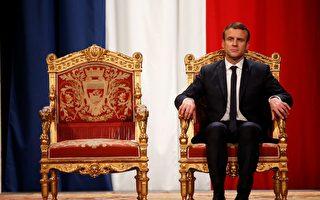 法国人对马克龙的百日政绩感到失望。比前总统奥朗德就职百日的满意度还低10%。   (CHARLES PLATIAU/AFP/Getty Images)