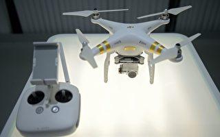 美国陆军目前要求下属单位,一律停用中国大陆制造商大疆创新科技公司(英文简称DJI)生产的无人机及其相关产品。图为DJI无人机展示。 (NICOLAS ASFOURI/AFP/Getty Images)