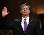 美國參議院星期二以92票對5票的懸殊比數,確認由總統川普(特朗普)提名的前助理司法部長克里斯托弗.雷(Christopher Wray)擔任聯邦調查局(FBI)局長。( Alex Wong/Getty Images)