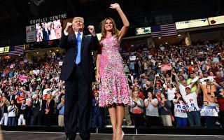 在距离美国华府400英里(644公里)的中西部,很多去年大选支持总统川普(特朗普)的选民,对川普上任后遵守当初对选民的承诺感到欣慰。(Justin Merriman/Getty Images)