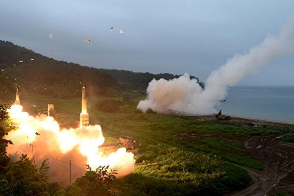 各方分析认为,朝鲜核武终将指向中国,面对朝鲜核试,中国受到的威胁最大。(South Korean Defense Ministry via Getty Images)