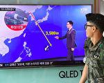 韩国媒体报导,独裁者金正恩已有两个星期没有公开行程,令人关注其是否会在星期二(8月15日)的国定假日朝关岛近海发射导弹。(Photo credit should read JUNG YEON-JE/AFP/Getty Images)