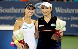 辛辛那提網賽 詹詠然辛吉絲奪女雙冠軍