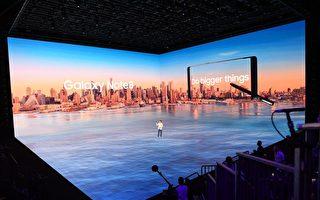 8月23日,三星在纽约召开新款手机Note 8发布会。  (DON EMMERT/AFP/Getty Images)