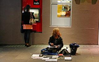 墨尔本无家可归者越来越多。(Scott Barbour/Getty Images)