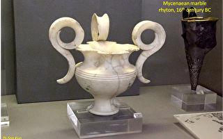 雅典國家考古博物館展品。(行雲提供)