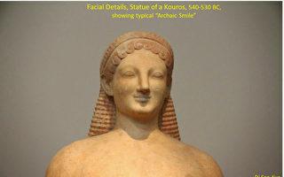 雅典國家考古博物館雕塑。(行雲提供)