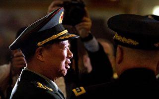 """1月30日,中共首任陆军司令员李作成5次提到习近平,并称坚持当局对""""军队的绝对领导"""",向习""""看齐"""",做""""政治明白人""""等。(MARK SCHIEFELBEIN/AFP/Getty Images)"""