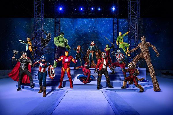 8月24日到27日,Marvel Universe Live!将于Valley View Casino Center上演。(图片由Feld Entertainment提供)