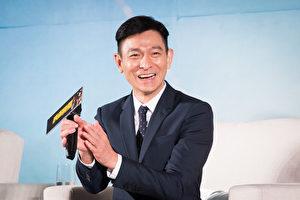 港星刘德华8月10日在台北出席《侠盗联盟》电影记者会。(陈柏州/大纪元)