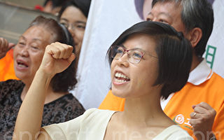 工黨主席胡穗珊辭職兼退黨。(大紀元圖片)