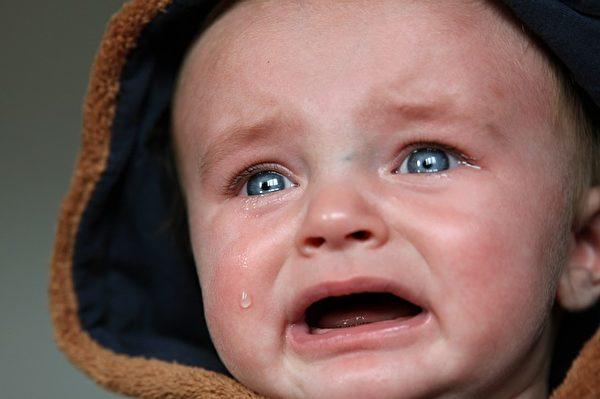 哭泣的寶寶。(Pixabay)