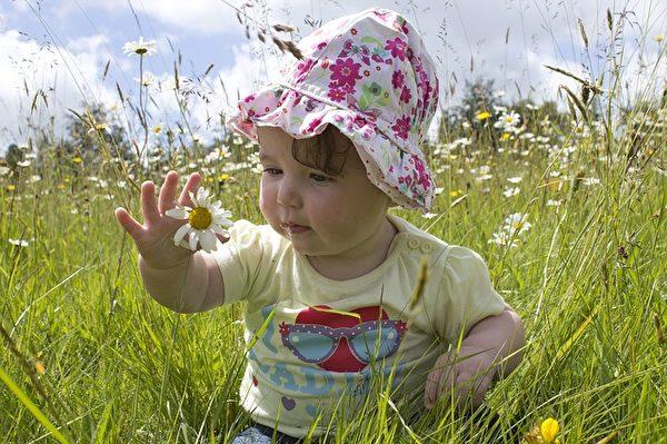 可愛的小女孩。(Pixabay)