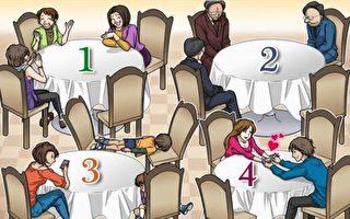 小测试:你最不想跟谁一起吃饭?测你的压力有多大