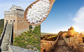 中国的万里长城矗立边陲长达千年不倒,原因与一种使用了糯米的糯米砂浆有关。(Fotolia/大纪元合成)
