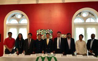 亚裔联盟宣告成立,宗旨是亚裔社区联合一致,加强与政府沟通。 (林丹/大纪元)