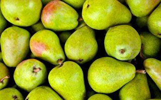 在2017年污染蔬果榜单中,有一个新面孔——梨。(PIRO4D/Pixabay)