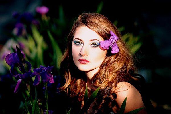 美麗的少女。(Pixabay)
