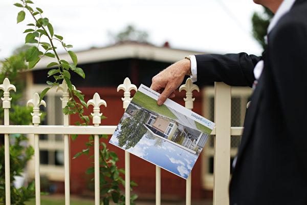 墨尔本业主将8套房子打包出售,预计总价格在2200万澳元至2400万澳元。(Mark Metcalfe/Getty Images)