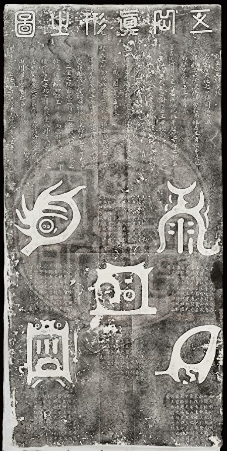"""用来安镇五方国土的""""五岳真形图""""。(资料来源/李丰楙提供)"""