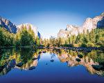 优胜美地风景优美,是美国的自然宝藏。(Shutterstock)