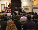 加州众议员丁右立宣布州政府将拨款500万美元,以帮助学生学习本州历史。(大纪元)