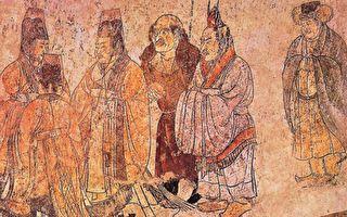 中国古代文化是半神文化,留下了无数现代科学难以解释的真实记载。图为章怀太子墓壁画。(公有领域)