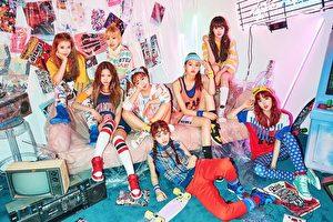韩国新人女团Weki Meki在台发行首张迷你专辑《WEME》。(avex提供)
