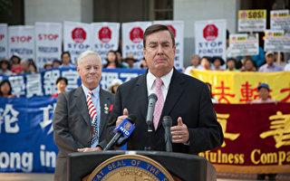 中共干扰加州参议院第10号决议案 外界谴责