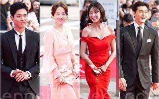 2017首尔国际电视节组图 朴宝剑等群星走红毯