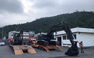 因应泰利台风来袭,台湾军方12日在宜兰地区预置兵力与机具,进驻可能淹水的低洼地区与偏乡,一旦地方有防救灾需求,可随时投入相关任务。(陆军兰指部提供/中央社)