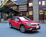 2017 Volkswagen Golf Alltrack。〈李奥/大纪元〉