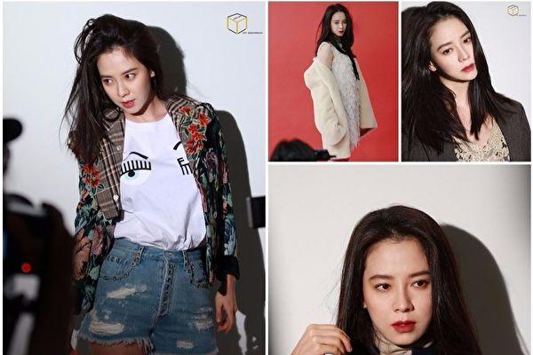 韩星宋智孝最近登上台湾时尚杂志九月刊的封面人物,更被选为2017台湾FNO韩国代表活动大使。(MY COMPANY提供)