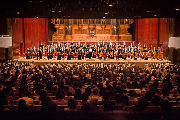 2017年9月22日晚,神韵交响乐团于国家音乐厅举行演出。(陈柏州/大纪元)