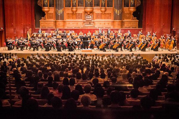 2017年9月22日晚,神韻交響樂團於國家音樂廳舉行演出。(陳柏州/大紀元)