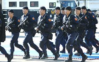 警政署強調,除要求北市警局擴大追查幕後分子外,近期將執行雙北地區聯合掃黑,打擊幫派據點。(AFP)