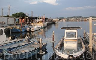 南寮渔港,经由规划后洁净没有鱼腥味及柴油味。(杨秋莲/大纪元)