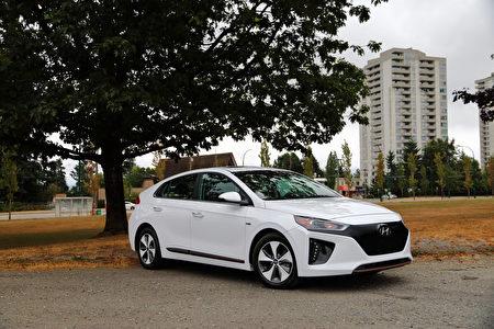 2017 Hyundai Ioniq。〈李奥/大纪元〉