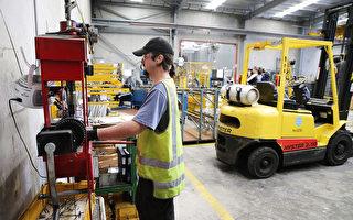 8月份,全澳洲有20.84萬個職位空缺,創下歷史最高紀錄。圖為在阿德萊德一家製造工廠。(Morne de Klerk/Getty Images)