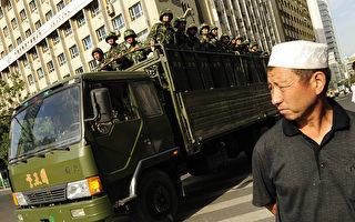 近年来新疆暴力事件频发,引发关注。图为2009年7月的新疆街头景象。(PETER PARKS/AFP/Getty Images)